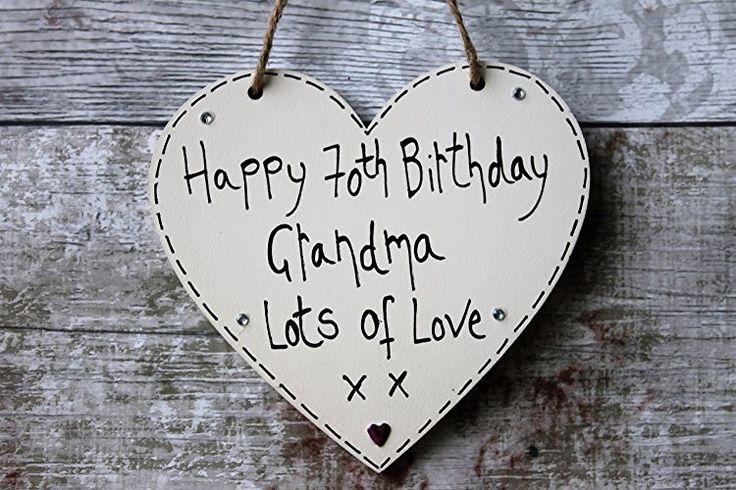Birthday Gifts MadeAt94 Customized Happy 70th Grandma