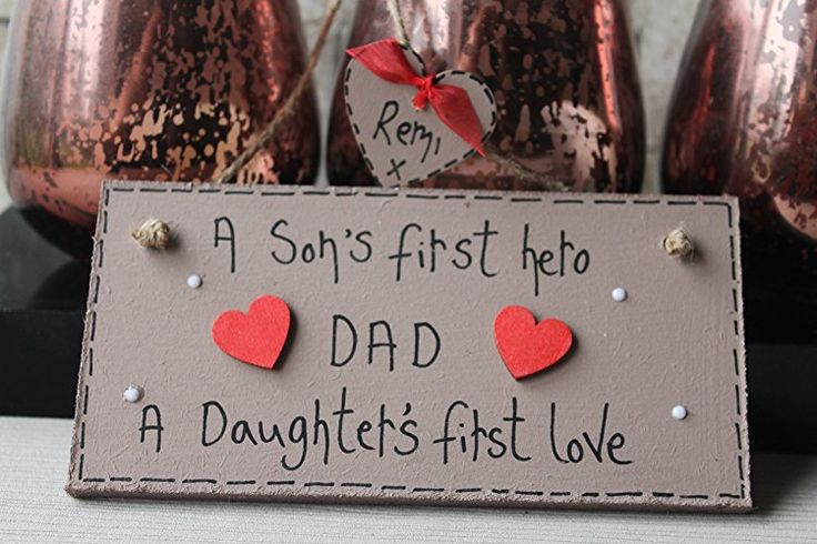 Birthday Gifts MadeAt94 Dad A Sons First Love Personalized Wooden