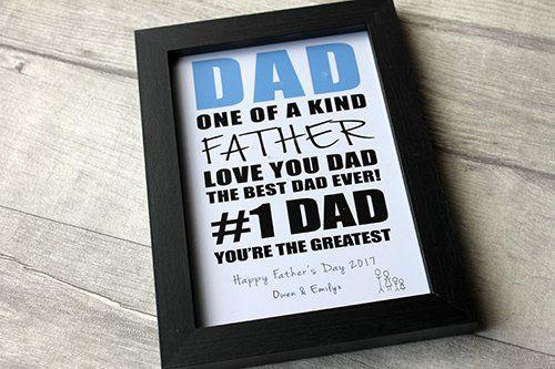 birthday gifts madeat94 daddy dad birthday frame gift frame dad