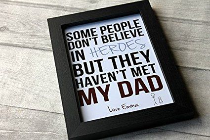 Birthday Gifts MadeAt94 Daddy Dad Hero Frame Gift