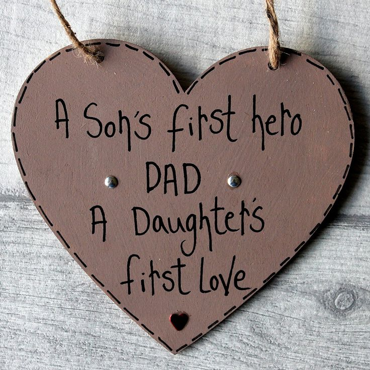 Birthday Gifts Madeat94 Fathers Day Dad Plaque Sign A Sons First Hero Daughters F