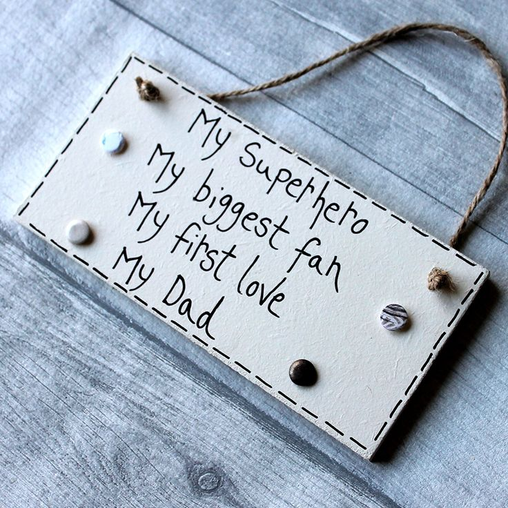 Birthday Gifts MadeAt94 Fathers Day Dad Plaque Sign My