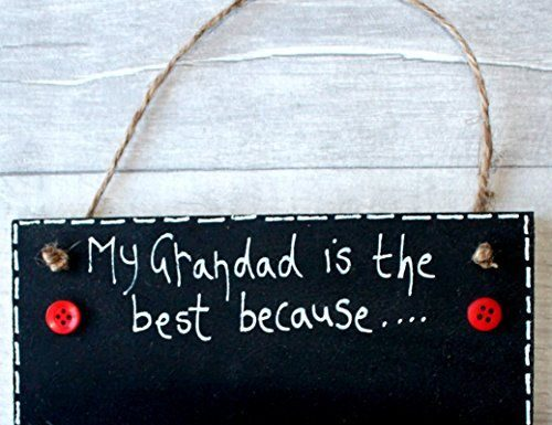 Birthday Gifts : MadeAt94 Gift For Grandad Birthday Father's Day Gift SignMy Grandparents are…