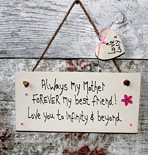 MadeAt94 Handmade Personalized Gifts for Mom Sign Mother's Day Birthday