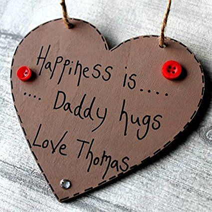 Birthday Gifts Madeat94 Happiness Is Daddy Hugs Dad Gift