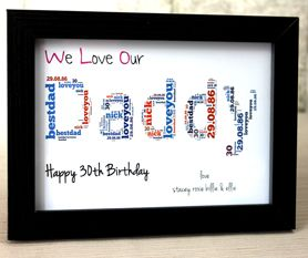 Birthday Gifts Personalised Daddy