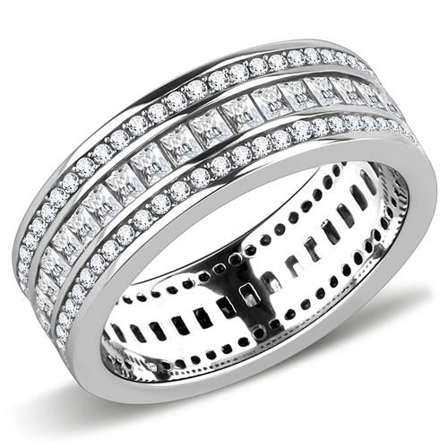 TCW Lab Diamond Wedding Band Eternity Ring