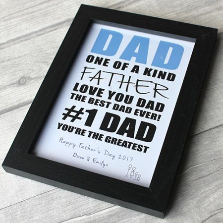Birthday Gifts The Only Thing Better Than Frame Best Dad