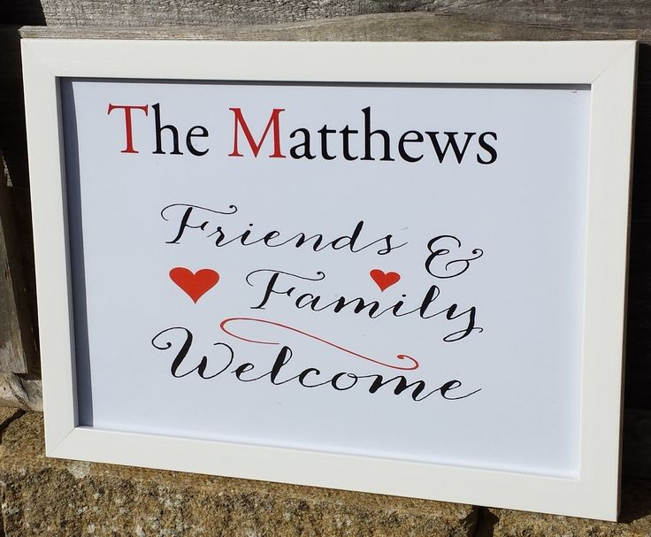 birthday gifts welcome family friends home picture frame