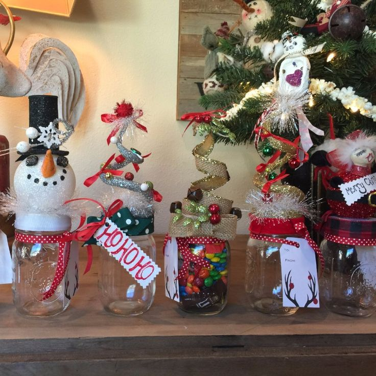 Corporate Gifts Ideas : Christmas Candy Jar Pop By, Hostess or ...