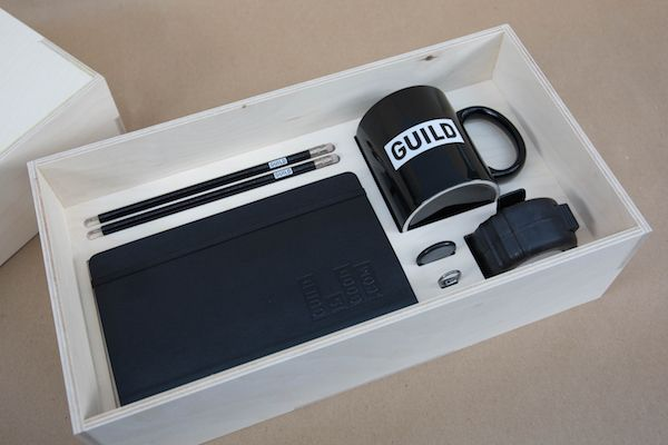 Take A Look At This Creative Agency's Stylish Induction Box For New Employees ...