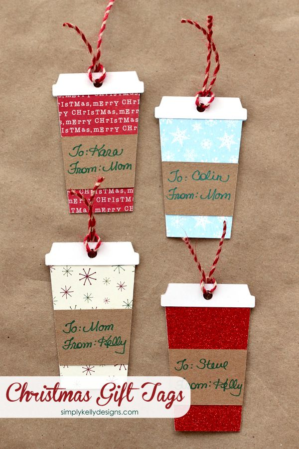 DIY Gift Wrapping Ideas : DIY Coffee or Latte Container Christmas ...