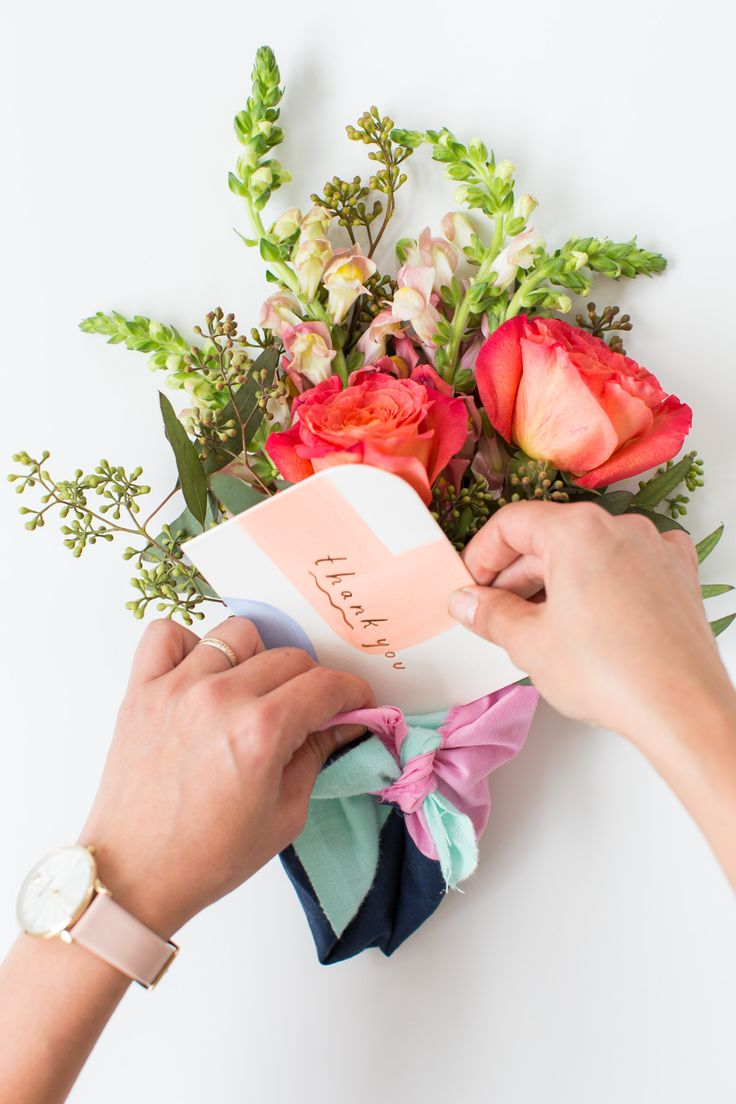 DIY Fabric Wrapped Bouquets for Gifting | Sugar & Cloth