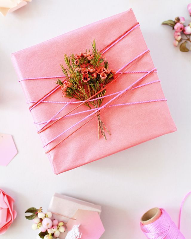 DIY Spray Painted Gift Wrap / Oh So Beautiful Paper