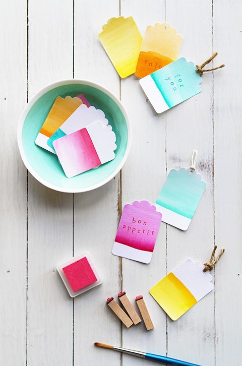 Ombre tags