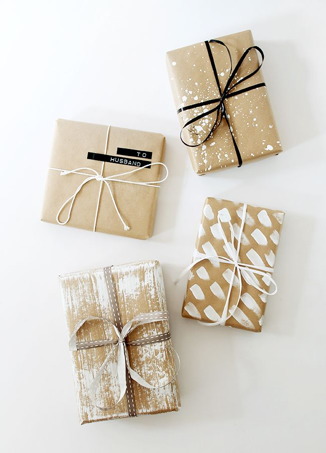 Awesome Gift Wrapping Ideas Part - 14: DIY Gift Wrapping Ideas