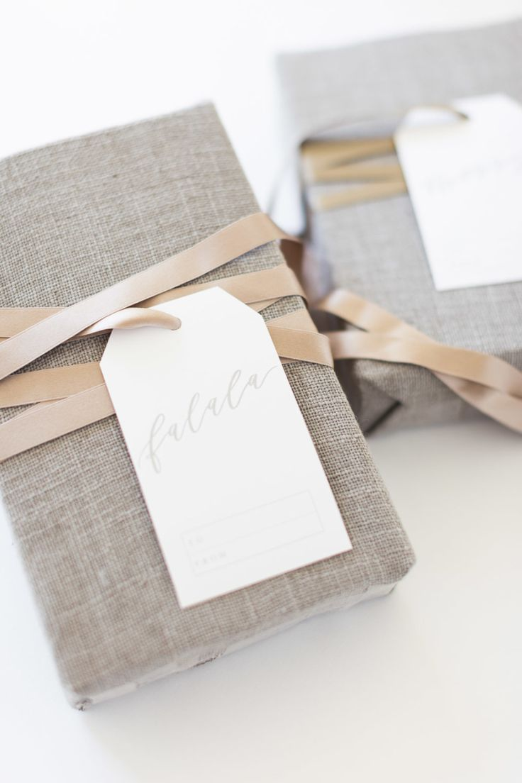 free printable gift tags to add to all your gorgeous wrapping this year. Get the...