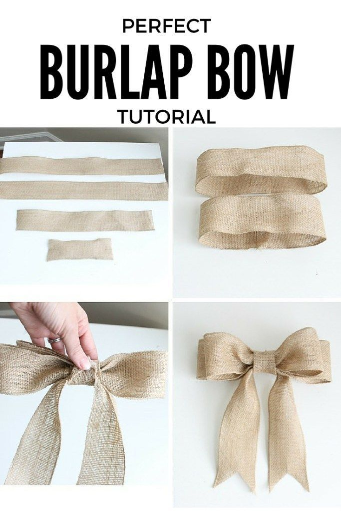 I had no idea how to make bows before this. Super clear, step-by-step directions...