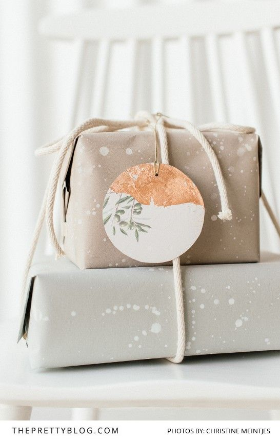 Let's Celebrate Simplicity: Make your own Wrapping Paper & Gift Tags - The P...