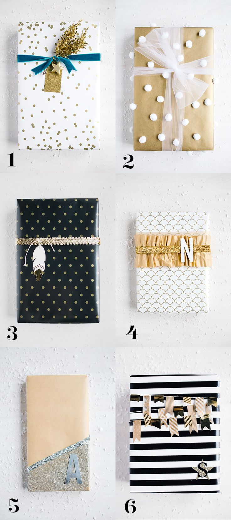 Take your wrapping to the next level! Glam Wrapping Ideas - step by step | Handm...