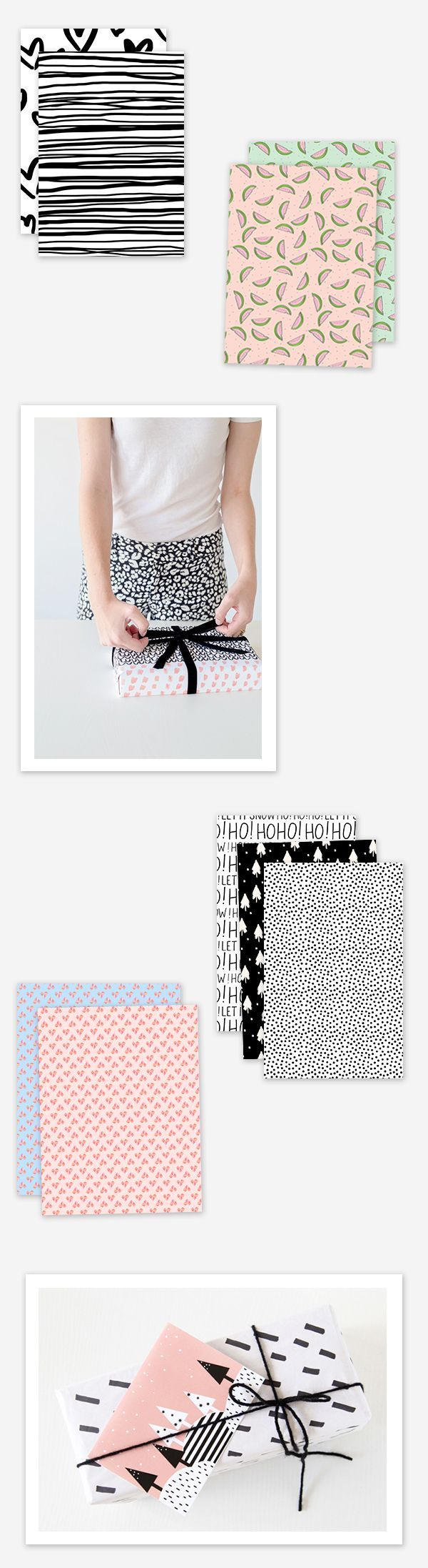 When it comes to gift wrapping (which is one of my very favorite things to do), ...