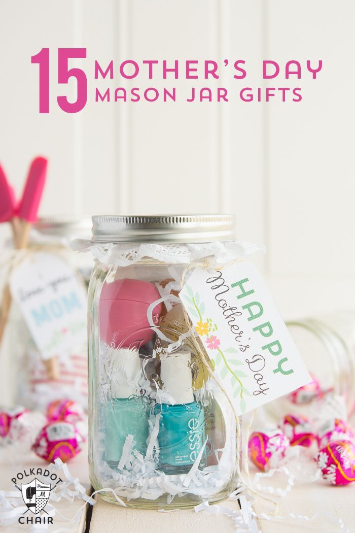 DIY Gifts : 15 Clever Mason Jar Gift Ideas for Mom - perfect for a ...