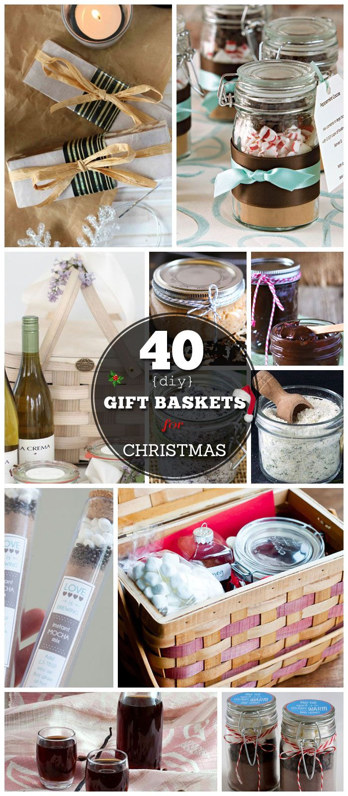 DIY Gifts : 40 DIY Gift Basket Ideas for Christmas ...