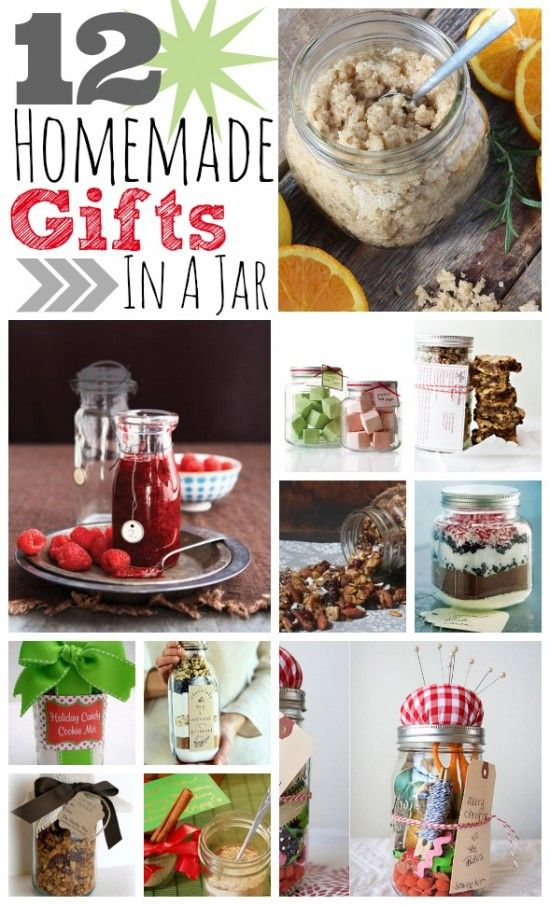 DIY Gifts And Wrap : 12 Homemade Gifts In A Jar~T~ Some great ideas ...