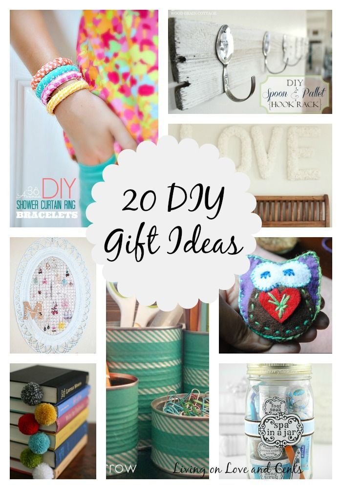 DIY Gifts And Wrap : 20 Awesome DIY Gift Ideas - GiftsDetective.com ...