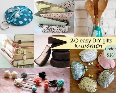 Diy gifts and wrap 20 easy diy gifts for women for under for Diy gift ideas for women
