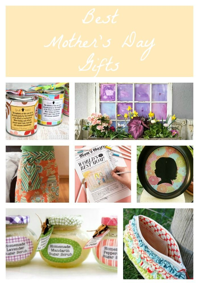 DIY Gifts And Wrap : 25 fabulous gift ideas for Mother's Day
