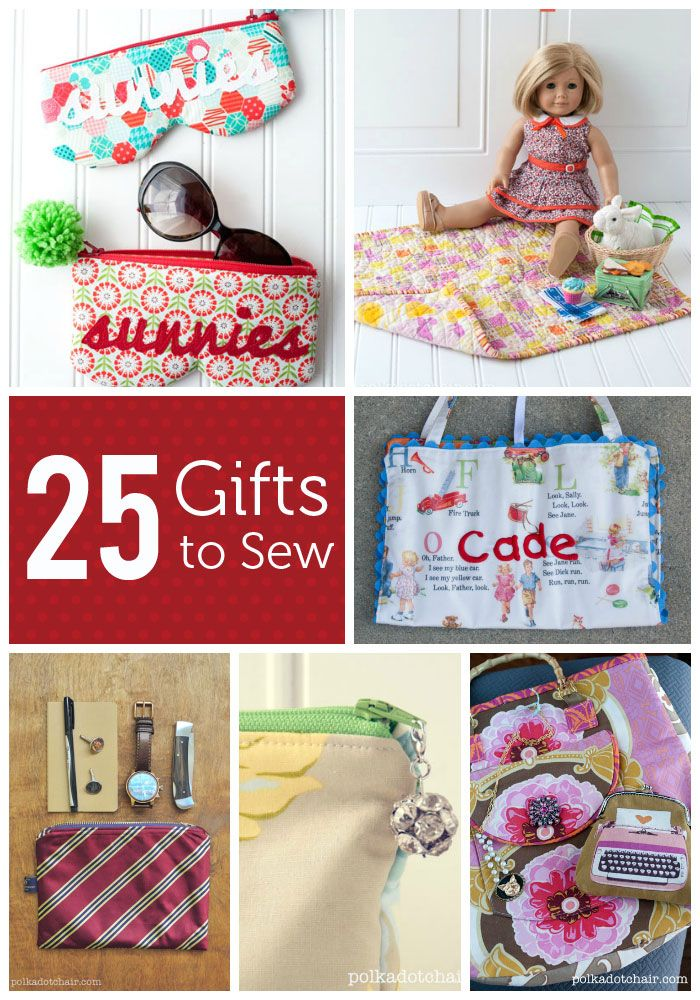 sewing craft ideas for gifts diy gifts and wrap 25 gifts you still time to sew 7125