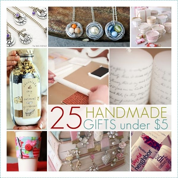 diy gifts and wrap 2018 2019 25 handmade gifts under 5