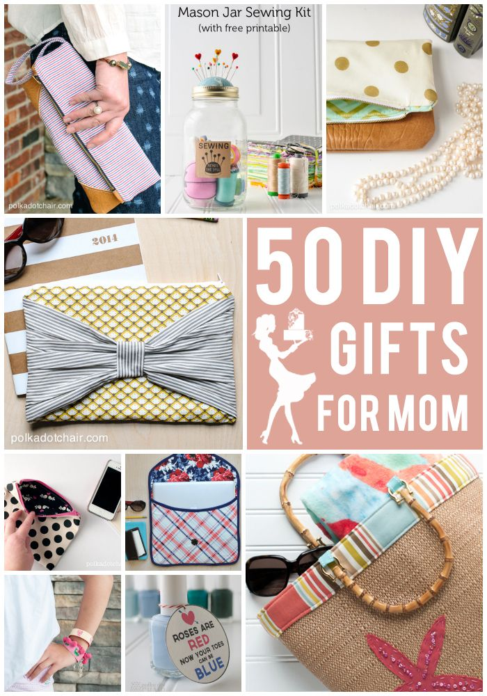 DIY Gifts And Wrap 50 Mothers Day Gift Ideas On Polkadotchair