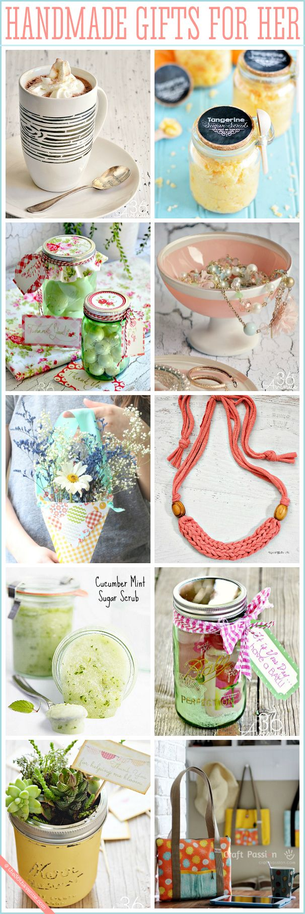 Diy Gifts And Wrap Adorable Affordable Handmade For Her Homemade Mothers Day
