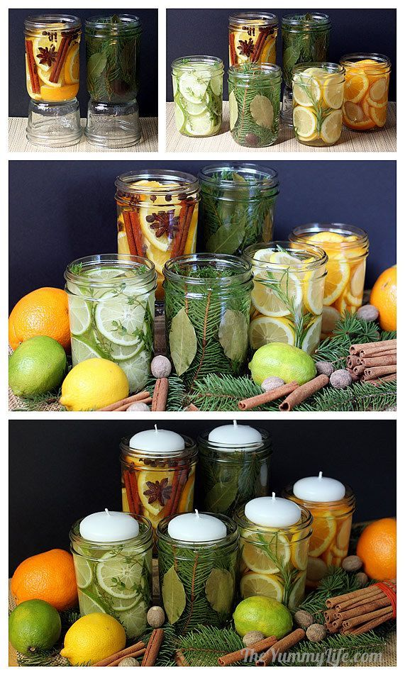 DIY Natural Room Scents for Your Home and for Gifting by theyummylife #DIY #Room...
