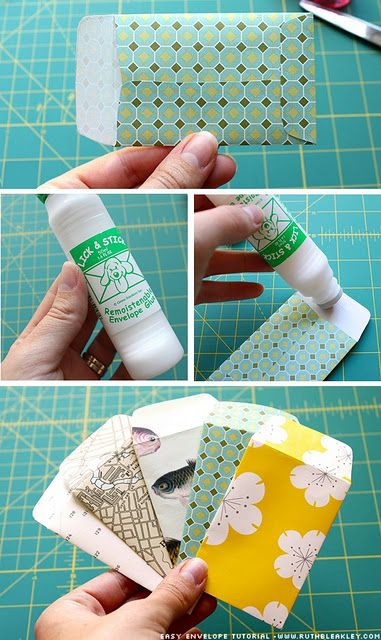 I always give jewelry for gifts! Need to make some of these envelopes to package...