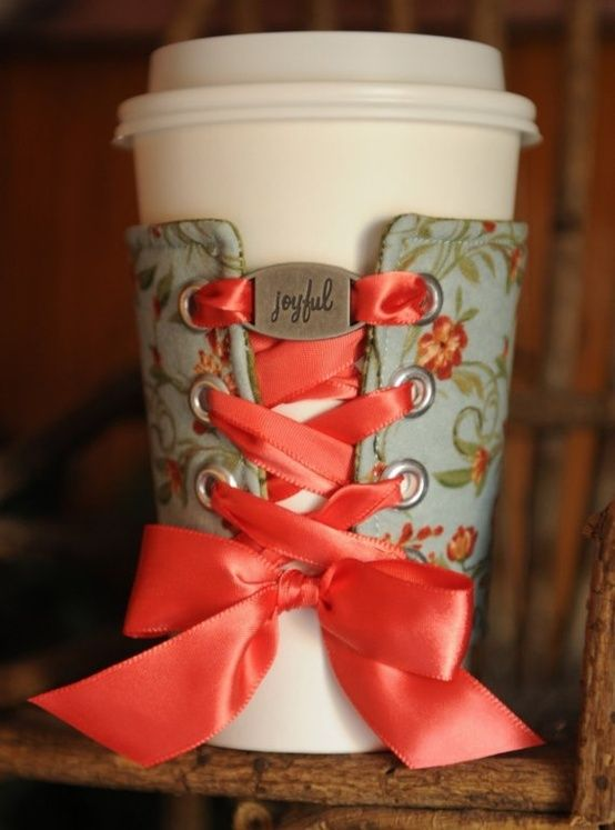 Looking for a quick project? How about this DIY beverage cuff that gives a nod t...