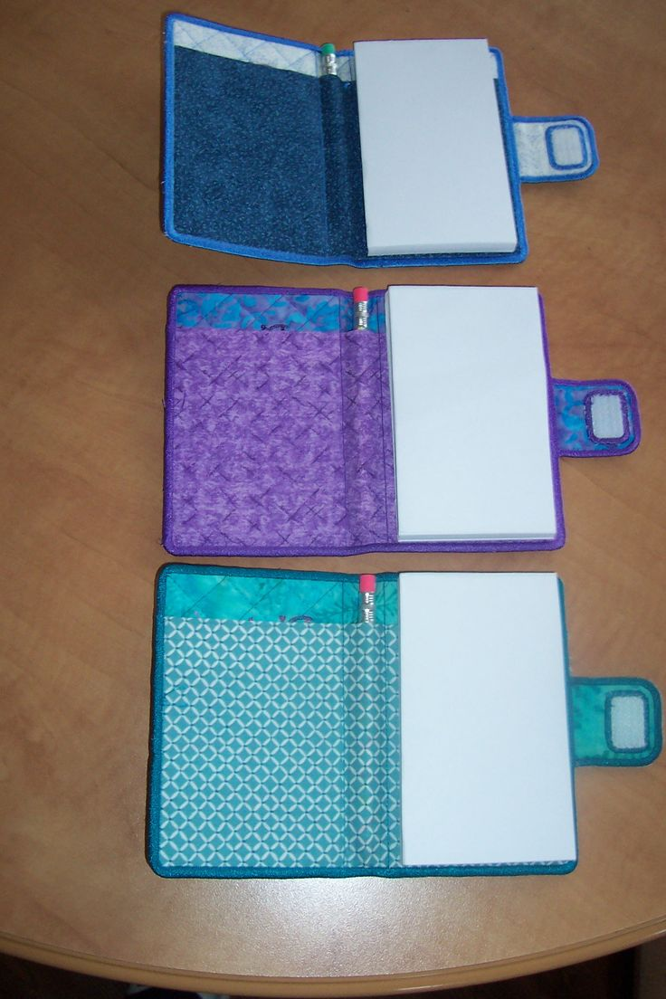 note pad holder, I love this idea...how cool!
