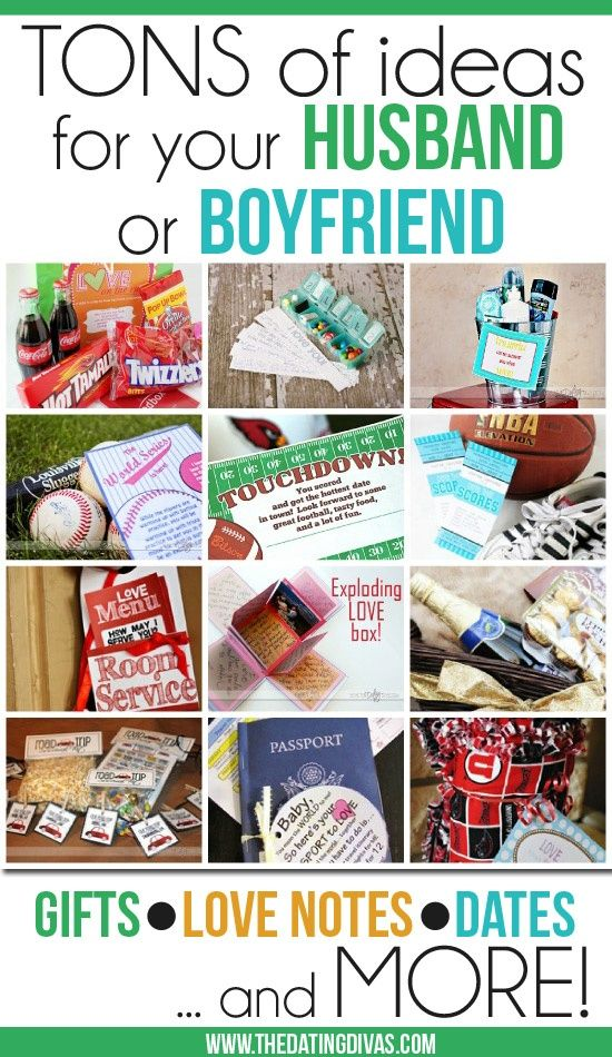 Homemade Christmas Ideas For Your Boyfriend. 50 just because gift ...
