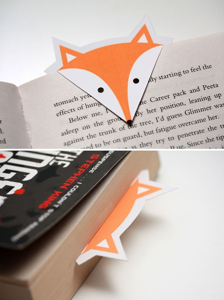 Why buy a fancy bookmark when you can make your own cute little critter? #diy #p...