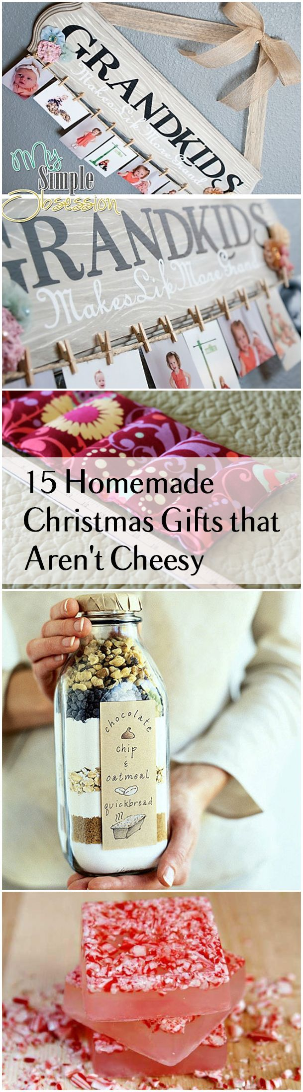 Diy gifts homemade christmas gifts and ideas that are for Diy gift ideas for women