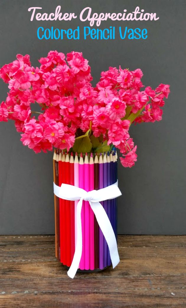 Diy gifts homemade teacher appreciation gift colored pencil diy gifts 2018 2019 solutioingenieria Choice Image