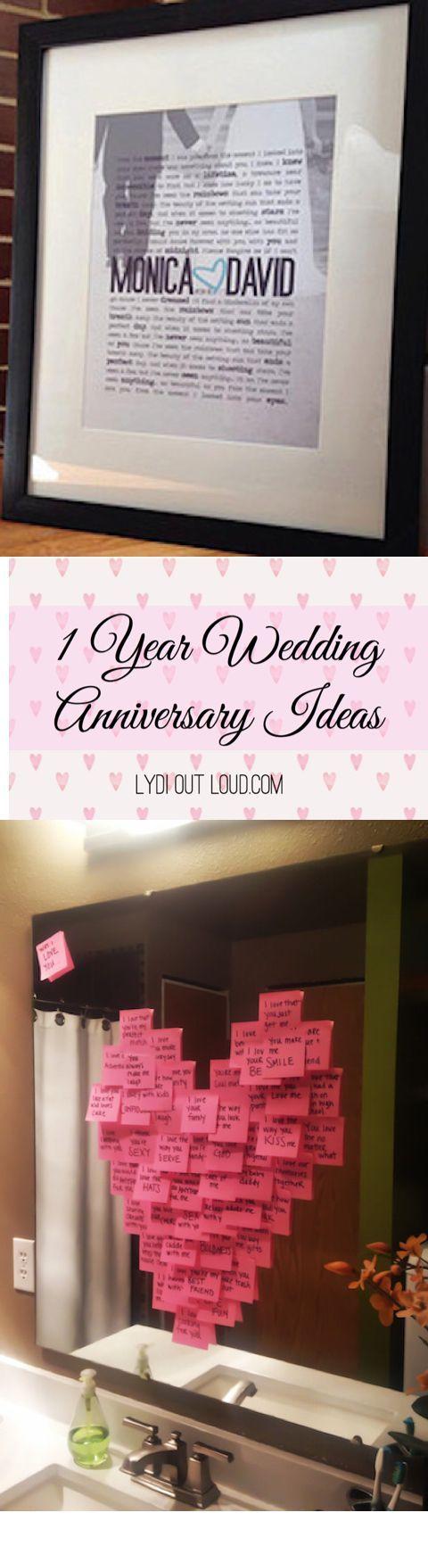 DIY Gifts Ideas : 1 Year Wedding Anniversary ideas - paper gift ...