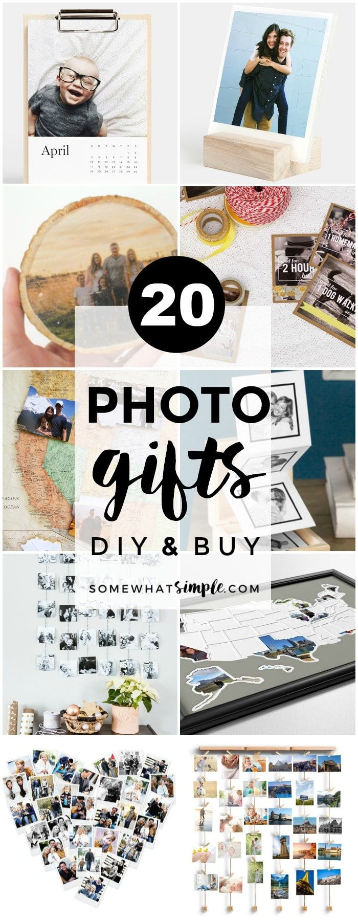 20 Favorite Photo Gifts   Personalized photo gifts are a fun and thoughtful way ...