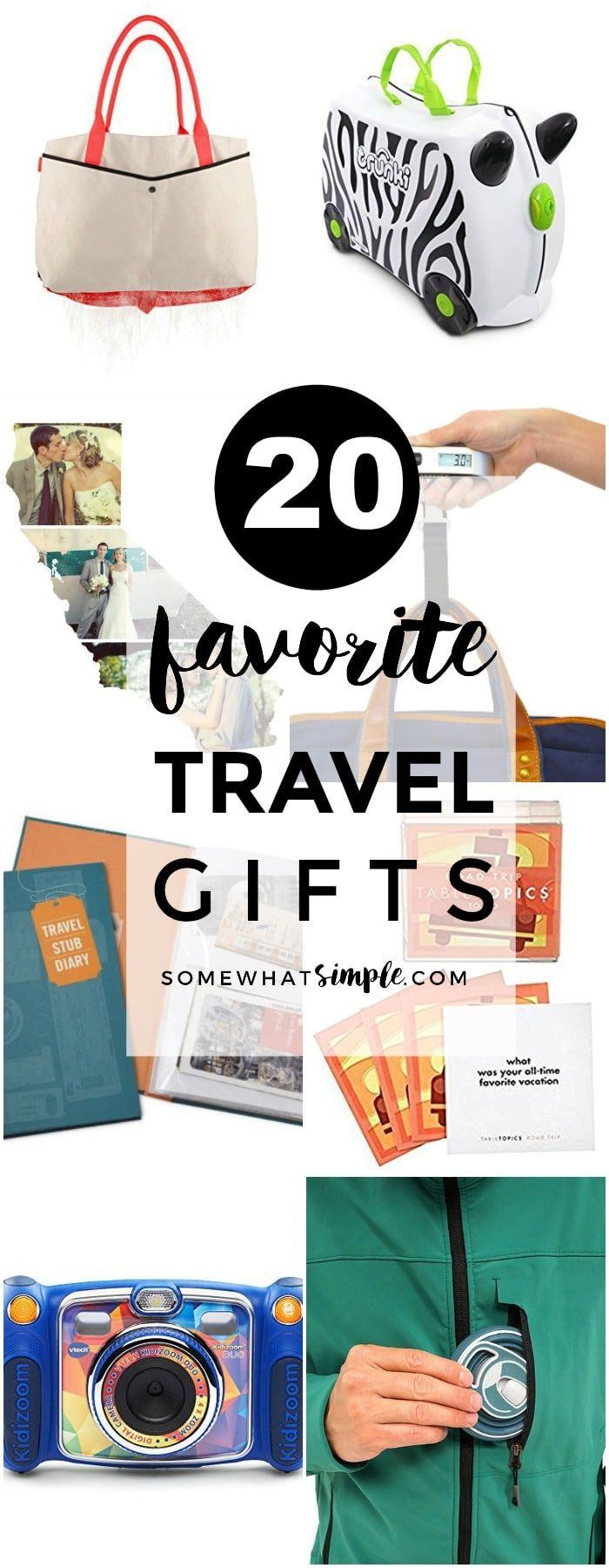 20 Favorite Travel Gifts | Make the next family vacation a breeze with these hel...