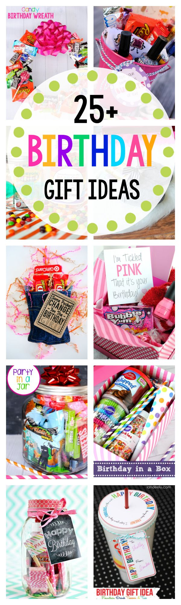 Diy gifts ideas 25 amazing fun birthday gift ideas for Easy gift ideas for friends
