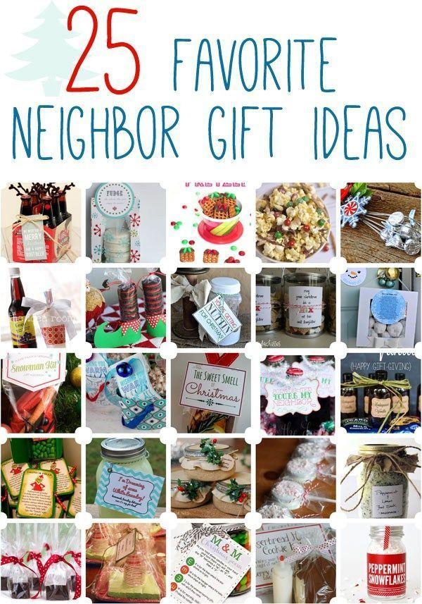 DIY Gifts Ideas : 25 Favorite Neighbor Gift Ideas www.oneshetwoshe ...