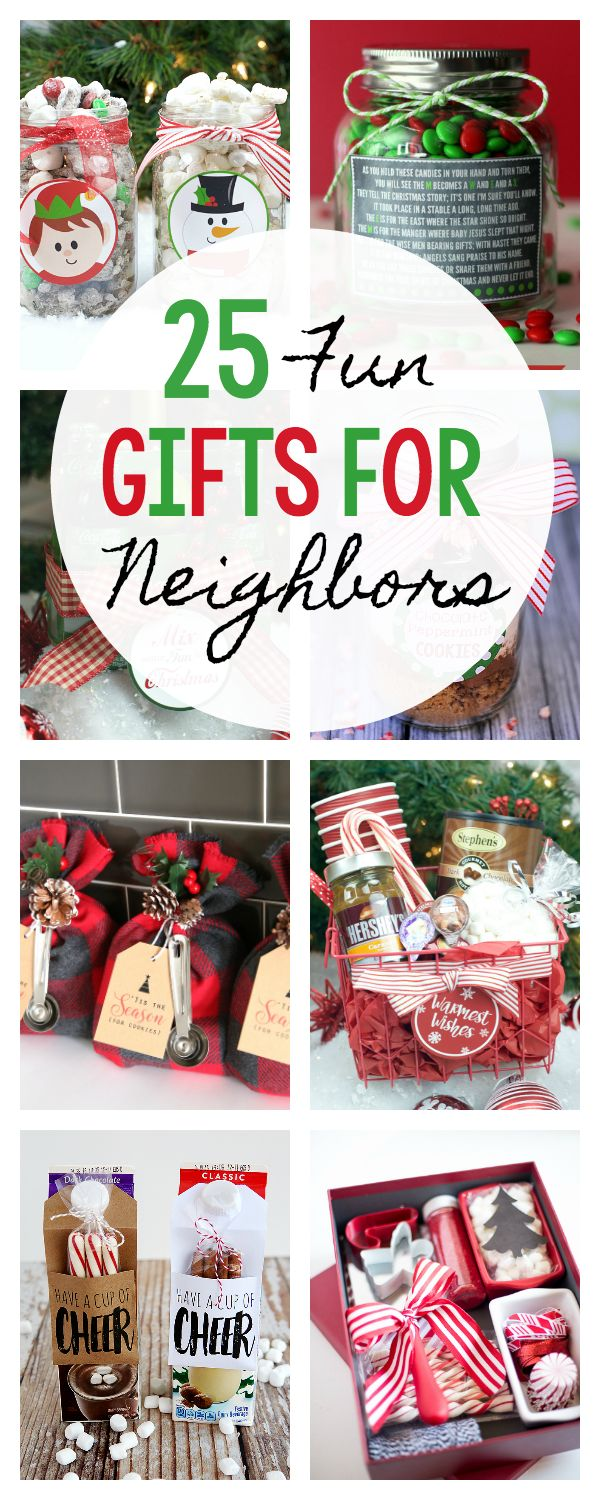 DIY Gifts Ideas : 25 Fun Gifts for Neighbors and Friends this ...