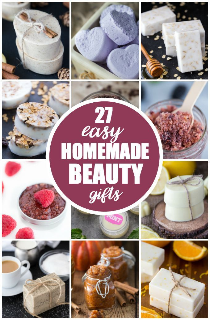 diy gifts ideas 27 easy homemade beauty gifts who knew making